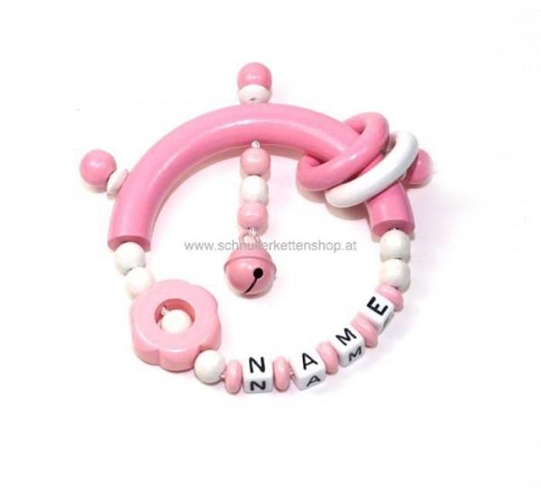 Greifling rosa mit Ringe