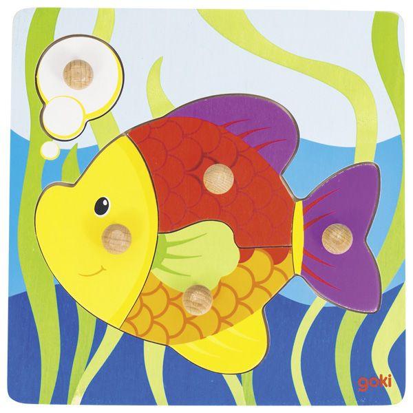 Steckpuzzle Fisch